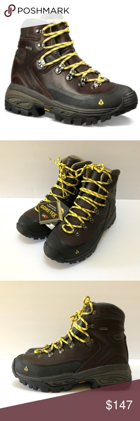 a9e141935bb0 NWT Vasque Leather Hiking Boots Sz 8 Eriksson GTX NEW Vasque Leather Trail  Hiking Boots