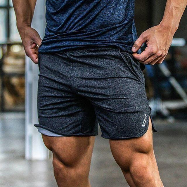 Men's Clothing Short Masculino Fashionable Mens Shorts Elastic Rope Stretch Mesh Pocket Casual Plain Sports Shorts Masculino
