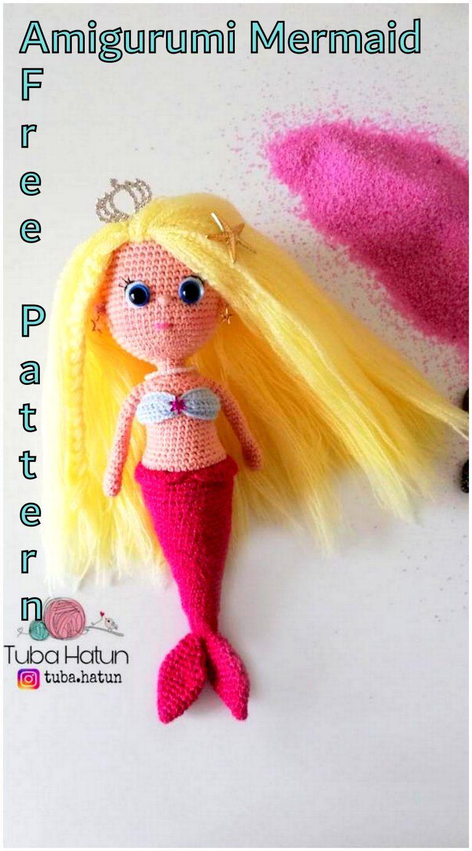 Aurora Mermaid amigurumi pattern - Amigurumi Today | 1382x768