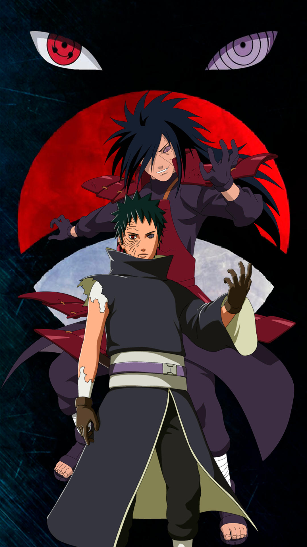 Madara Uchiha e Obito Uchiha Naruto Madara wallpaper