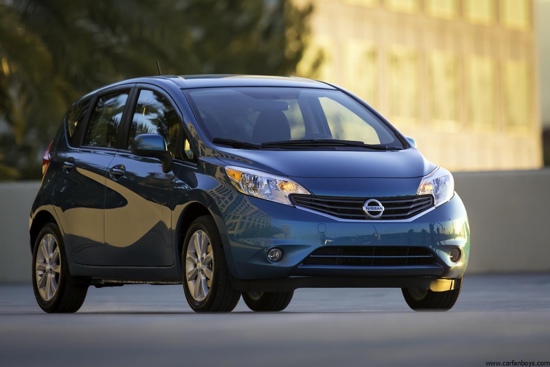 2014 Nissan Versa Note Nissan Versa Nissan Subcompact Cars