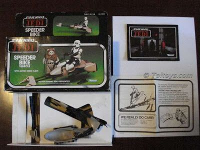 Toltoys Return of the Jedi Speeder Bike