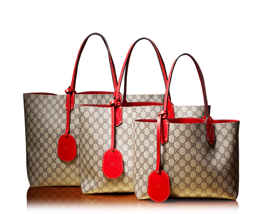 a7105c7a95cb43 Gucci reversible GG leather tote in 3 sizes... Black for me ...