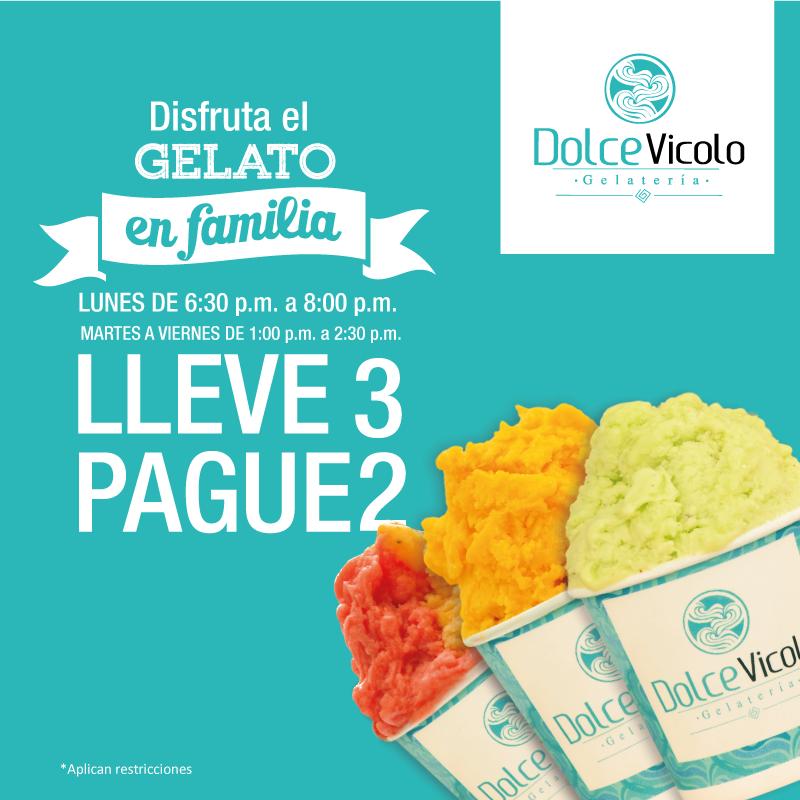 El Gelato es mas delicioso disfrutándolo en familia Pague 2 lleve 3 LUNES DE 6:30 p.m. a 8:00 p.m. y MARTES A VIERNES DE 1:00 p.m. a 2:30 p.m. *Aplican restricciones. +  =   #cali #gelato #heladoartesanal #gelatoitaliano #granada