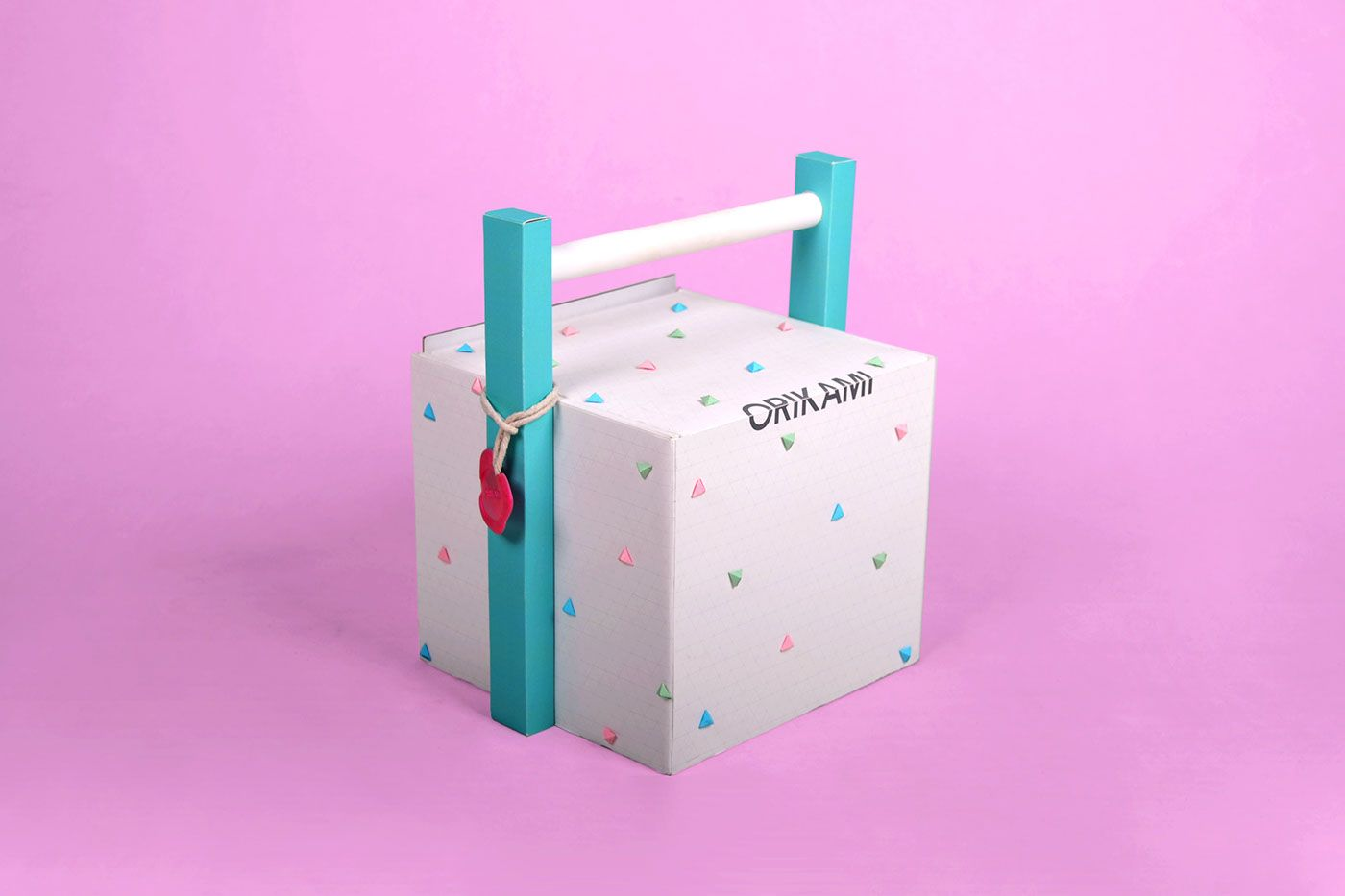Origami Box on Behance