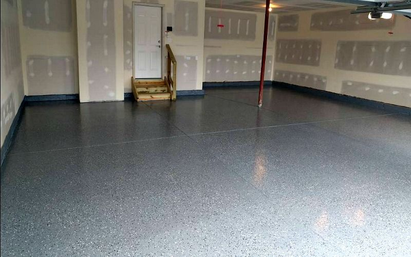 We Review An Armorpoxy Spgx Garage Floor Coating Install Garage