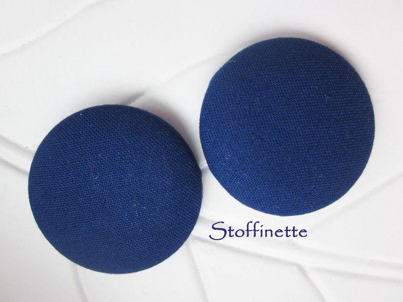 2er Set Knöpfe 37mm von Stoffinette auf DaWanda.com