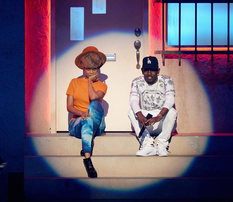 E. Badu and Kendrick
