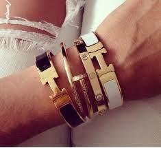 Image Result For Hermes Clic Clac Celebrity H Bracelet Cartier Bangles Bracelets