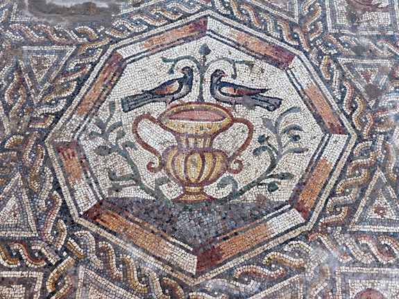 A second large floor mosaic dating from the late Roman/early Byzantine era has been uncovered near the original Lod (lydda) mosaic. http://www.livescience.com/52810-courtyard-mosaic-israel-photos.html