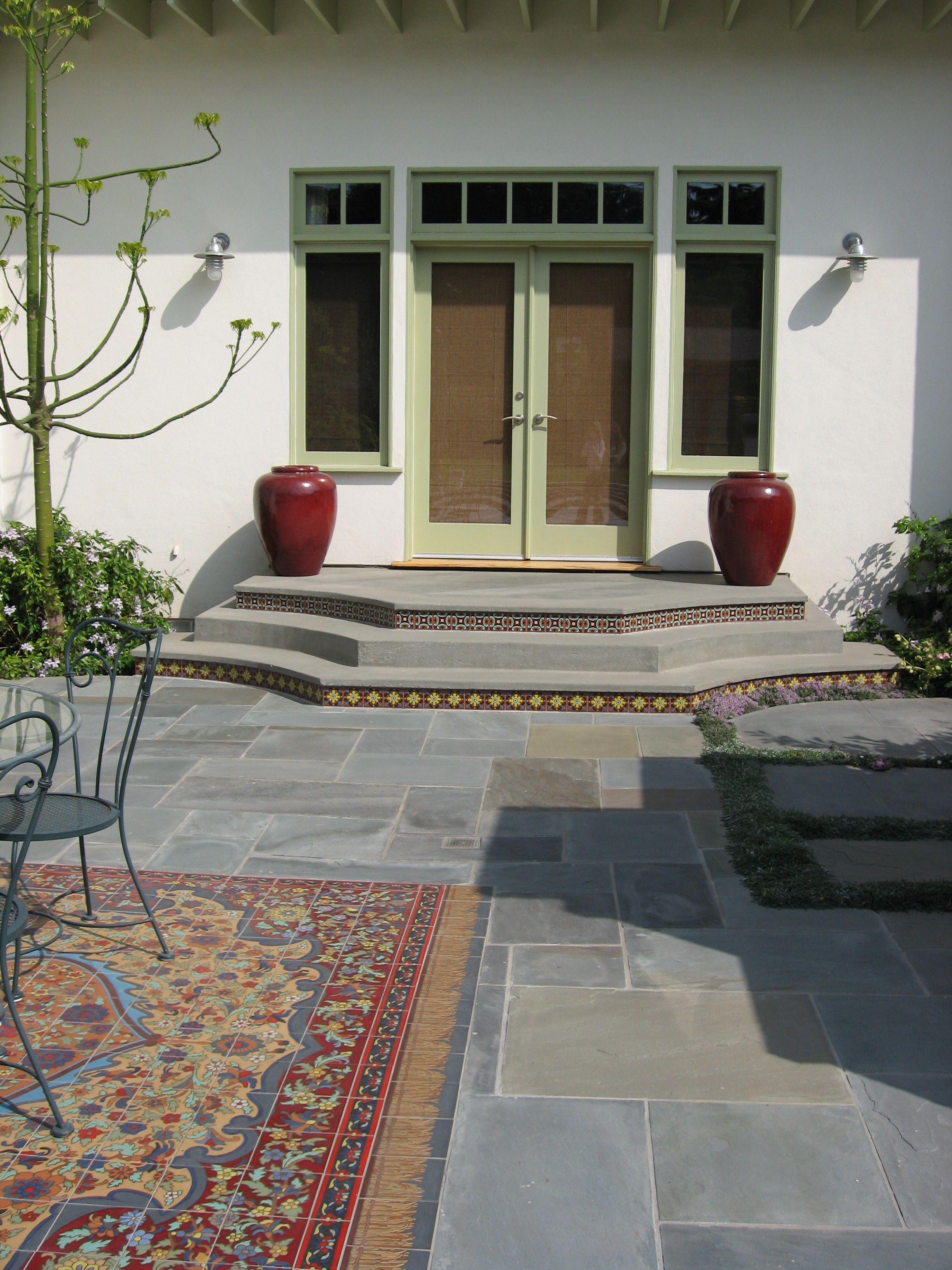 Painting Ceramic Tiles