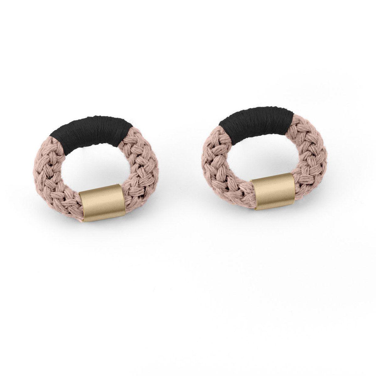 Melloteck brass cotton earrings jewelry pinterest cotton