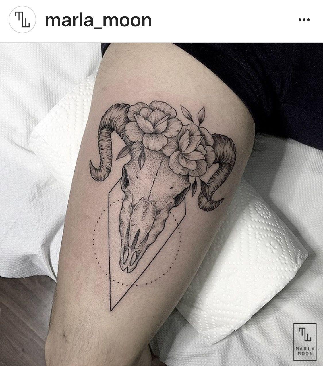 Pin von Katharina Tauster auf kleine Tattoos | Widder