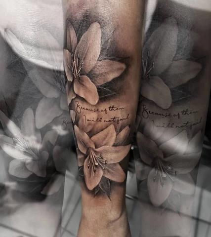 19+ Tatouage bras fleur de lys inspirations