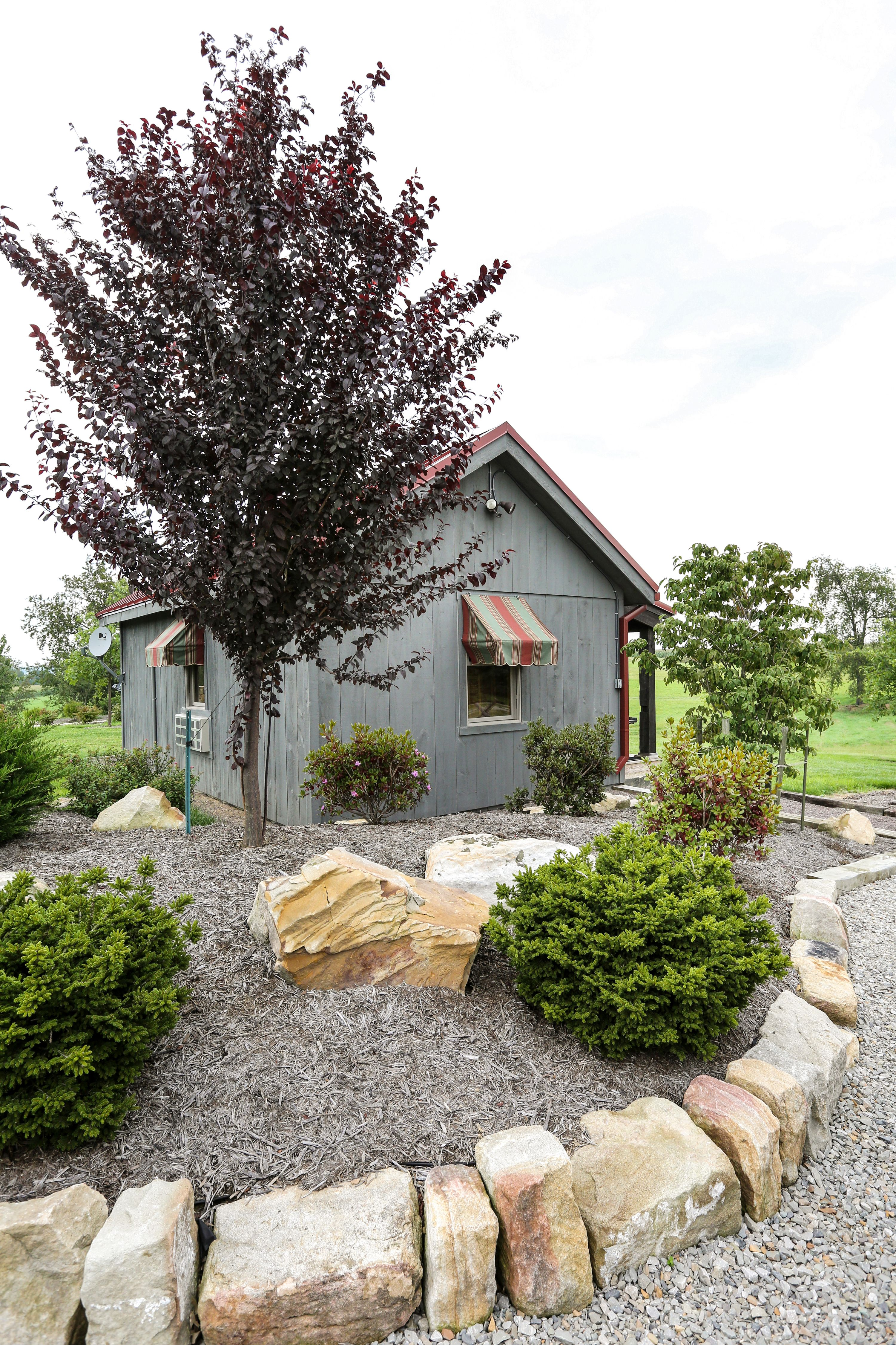 Relax in a cozy cottage on 45 acres of secluded landscaped