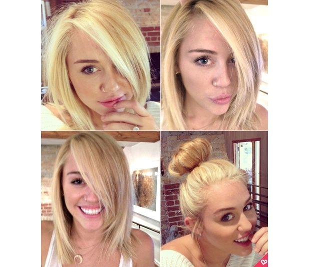 Miley Cyrus Hair Haarschnitt Kurz Haarschnitt Kurze Blonde Haare