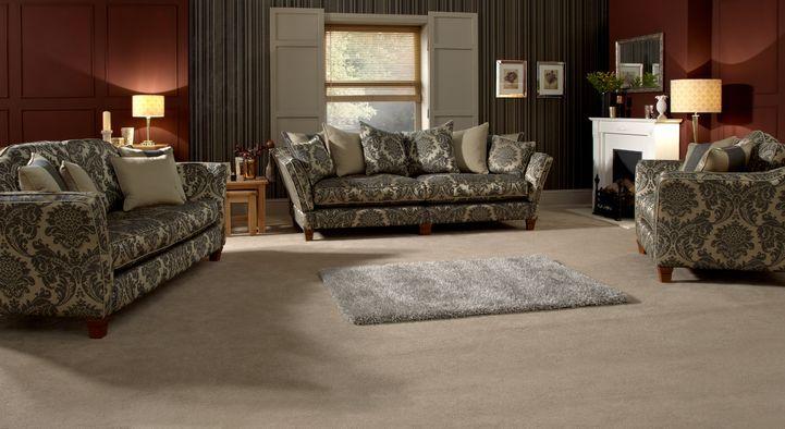 Linea Argyle Grand Knole Split Sofa Scatter Back