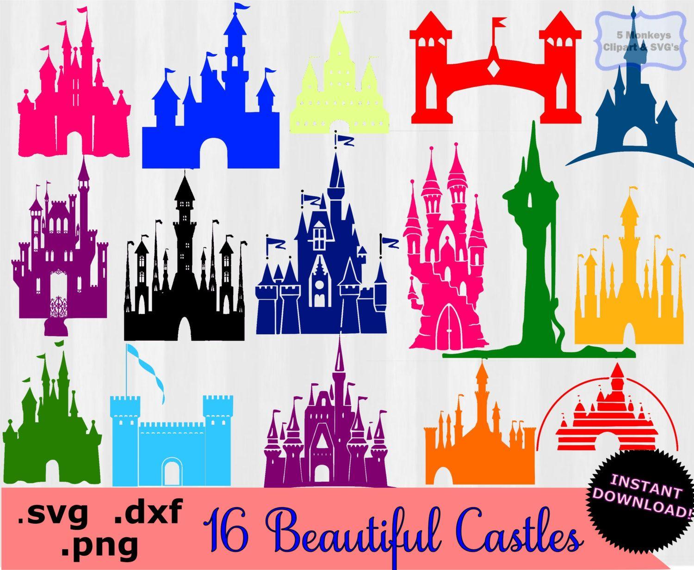 disney castle clipart disney castle svg svg files