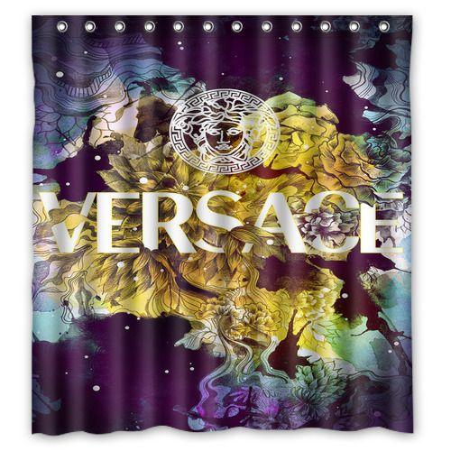 New Prince Purple Logo Custom Fabric Shower Curtain 60x72 Inch