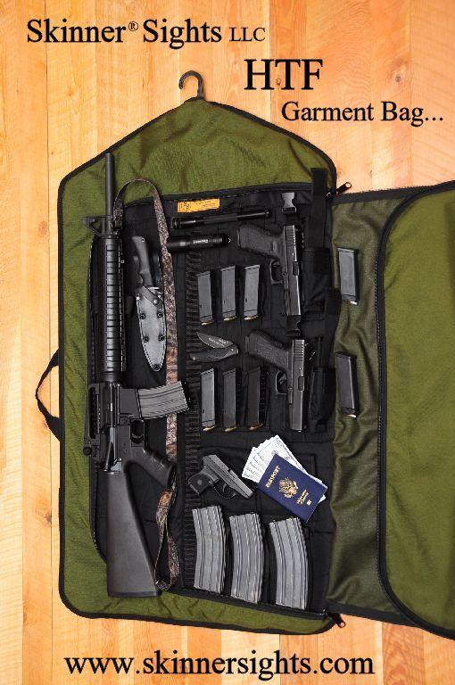 Bug Out Weapons Bag : Skinner sights garment bag gun safes cases storage