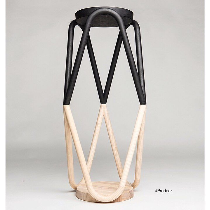From Prodeez Product Design: VAVA Stool by Kristine Five Melvaer. For more info and images visit www.prodeez.com #furniture #stool #wood #creative #design #ideas #designer #kristinefivemelvær #interior #interiordesign #product #productdesign #instadesign #furnituredesign #prodeez #industrialdesign #architecture #style #art
