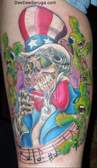 75a2ea1f05a5e Off the Map Tattoo : Tattoos : Dee Dee : US Blues | Dead Tattoos ...