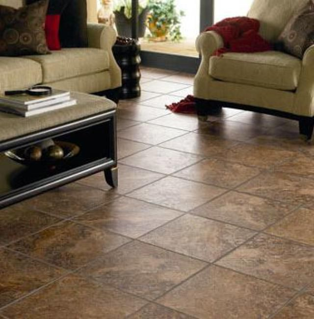 Best to worst grading 13 basement flooring ideas vinyls for Best tile for basement floor