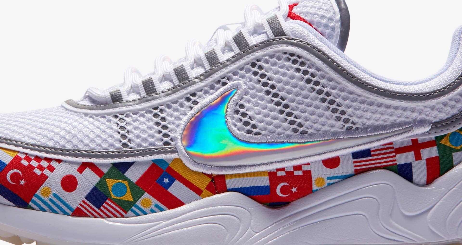 Nike Air Zoom Spiridon 'White & Multicolour' Release Date