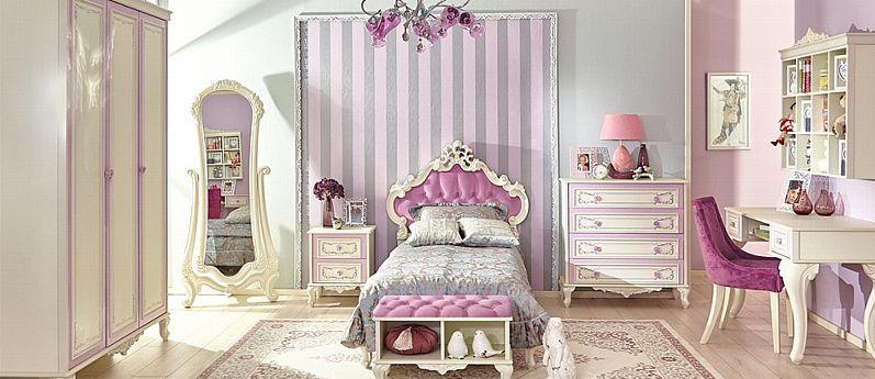 Kinderzimmer Jugendzimmer Madchenzimmer Komplett Jugendbett Marquisa Kaufen Bei Hood De Zimmer Kinder Zimmer Kinderzimmer