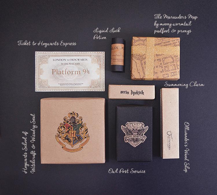 Harry Potter Diy Gift Wrap Ideas Hogwarts Seal Hogwarts Ticket