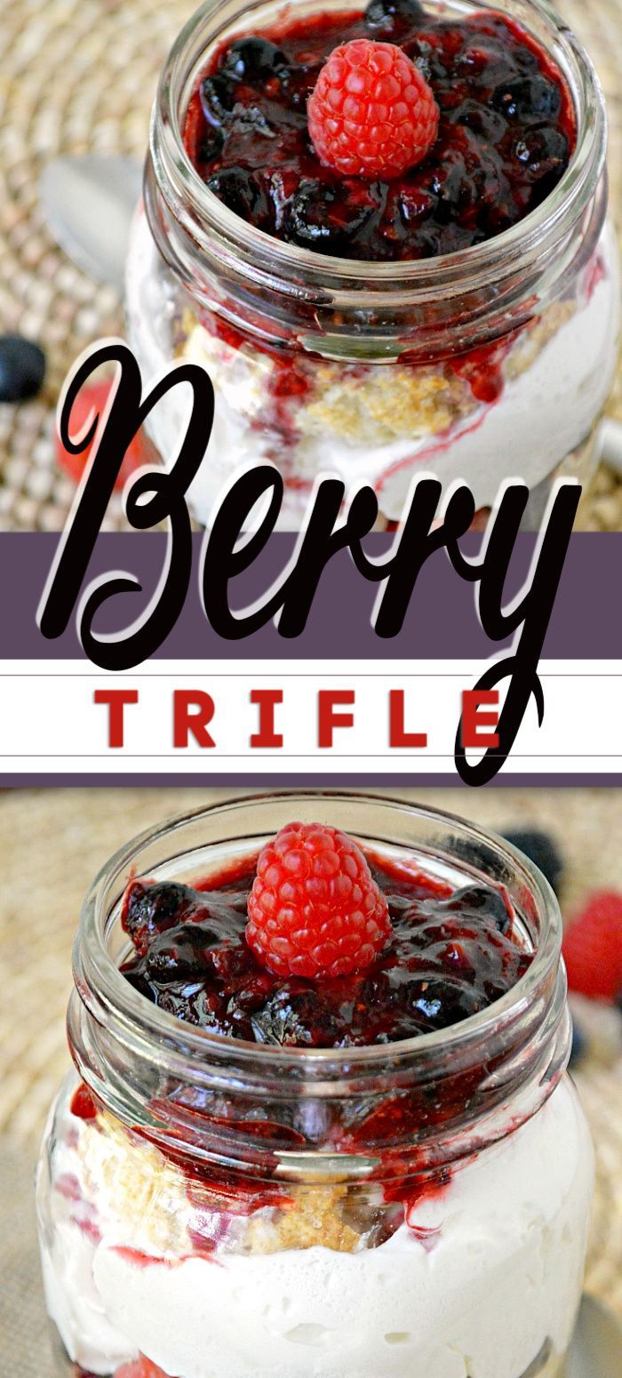 Berry Trifle images