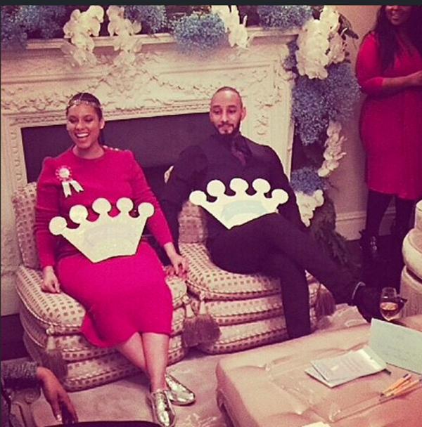 Swizz Beatz Throws A Royal Themed Baby Shower For Alicia Keys