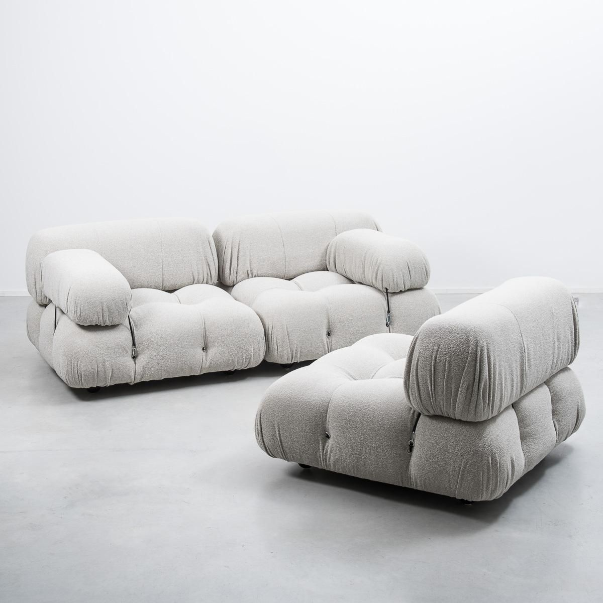 Divano Jean B&b Camaleonda Three Seater Modular Sofa By Mario Bellini For B B