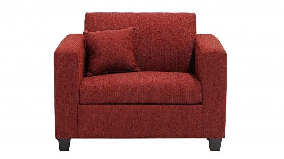 Minx Fabric Single Sofa Bed Sofa Beds Living Room Furniture