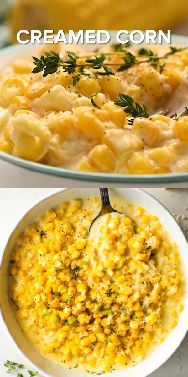 Creamed Corn -   25 thanksgiving recipes side dishes videos ideas