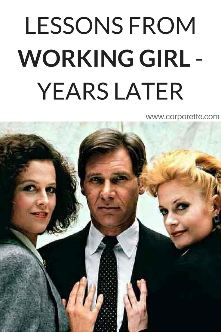 Working Girl The Discussion Working Girl Movie Working Girl