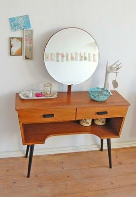 Vintage vanity thrifted by ATLITW