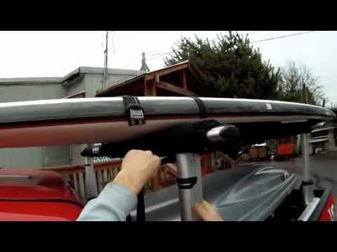 Paddle Board Car Racks >> How To Properly Tie Down A Paddle Board On A Roof Rack Go
