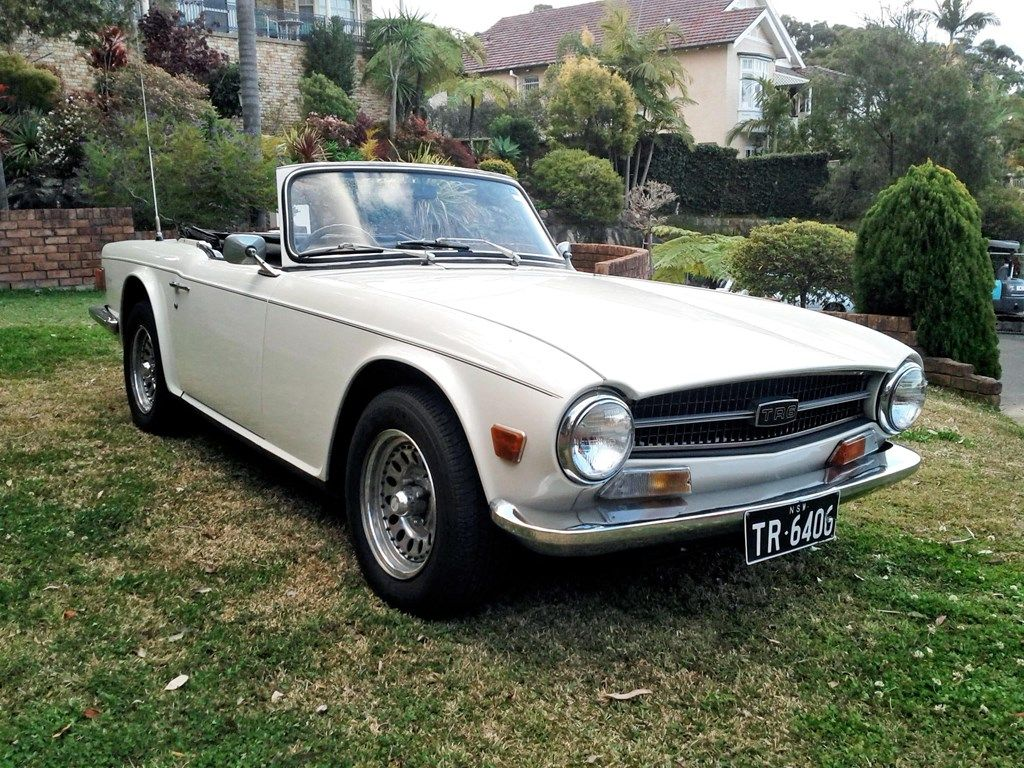 1969 TRIUMPH TR6 for sale | Trade Unique Cars, Australia | Classic ...