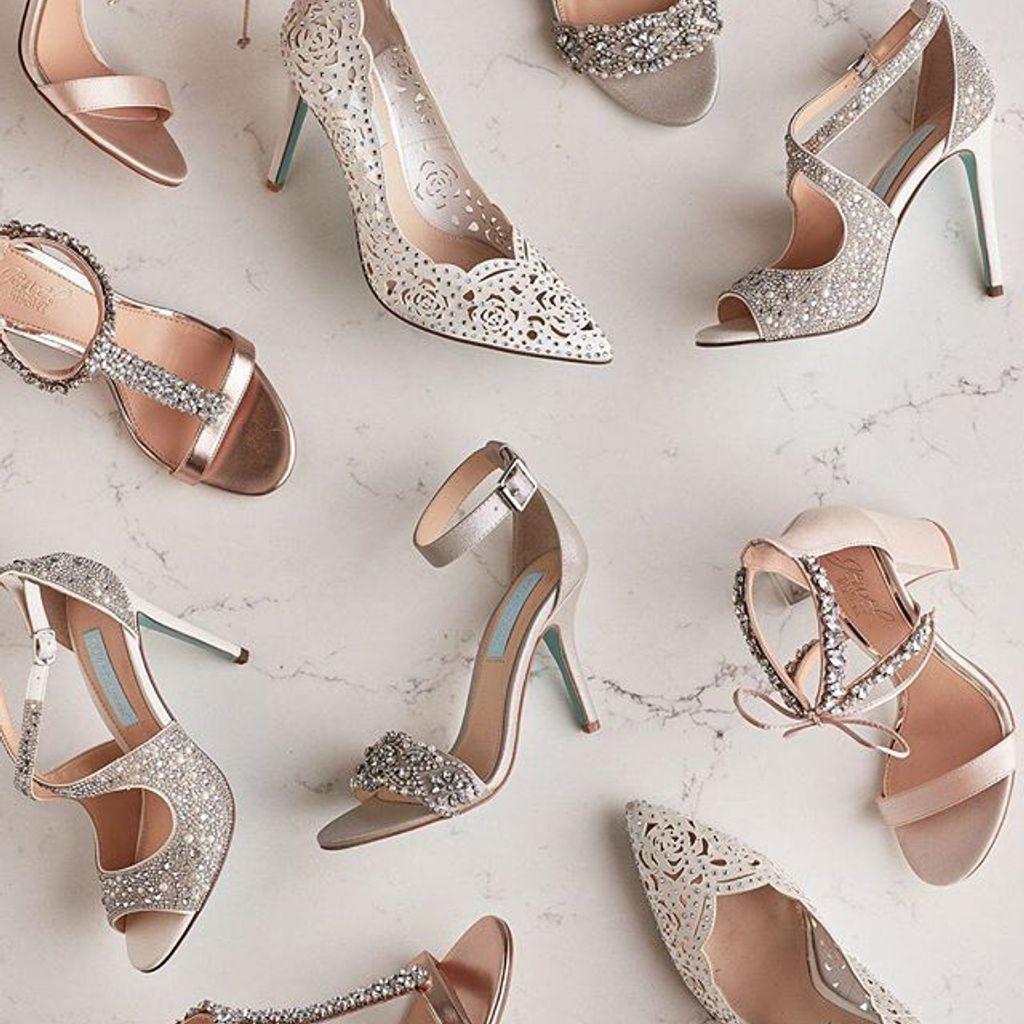 designer ankle strap heels