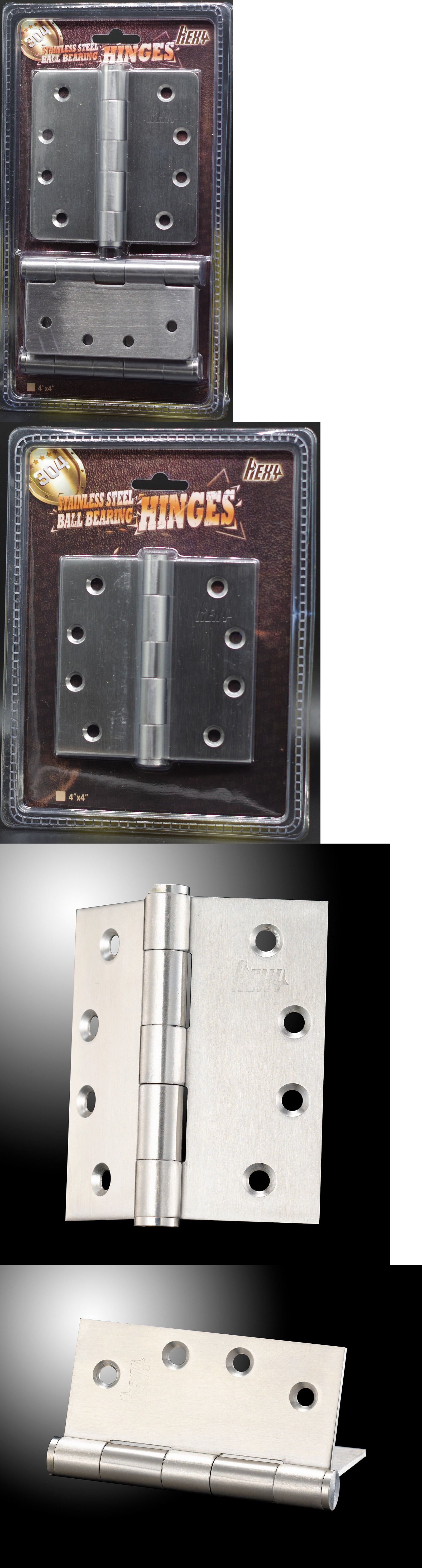 Stainless Steel 304 Continuous Hinge with Hole 2 Open Width Pack of 1 5//64 Pin Diameter 1//2 Knuckle Length 8 Long Bright Annealed Finish 0.04 Leaf Thickness