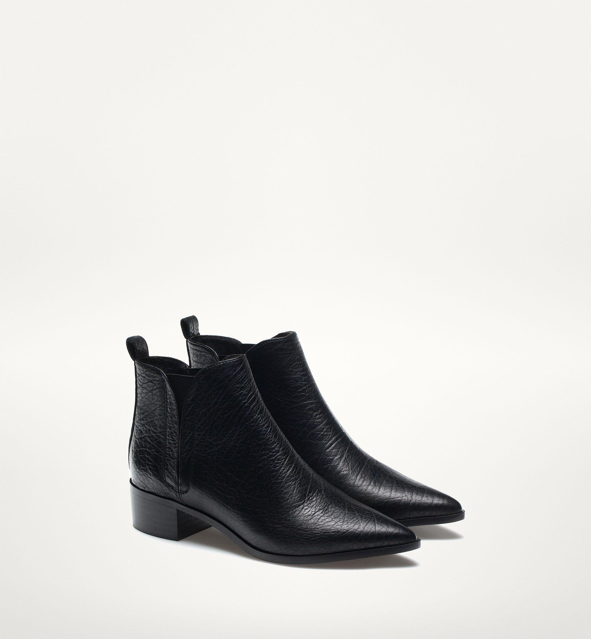 Assez BOTTINE BOUT NOIR | Mode | Pinterest | Bottines, Noir et Chaussure OJ19