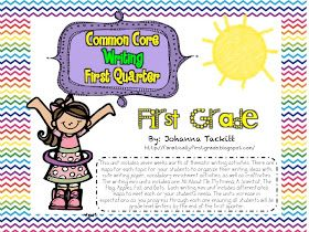 First Grade Fanatic!: Common Core Writing Unit: First Grade Style!