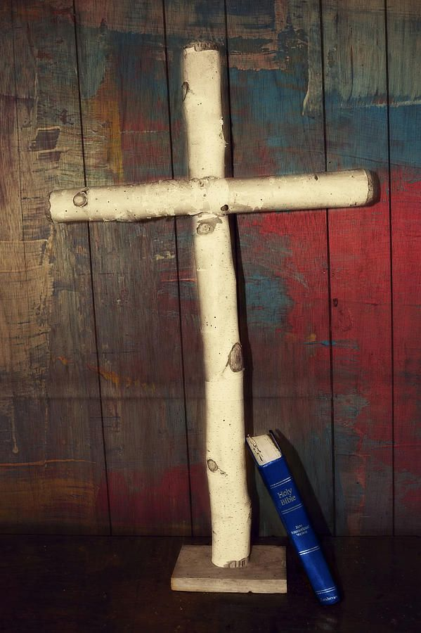Wooden Cross Photograph by Nicole Frederick