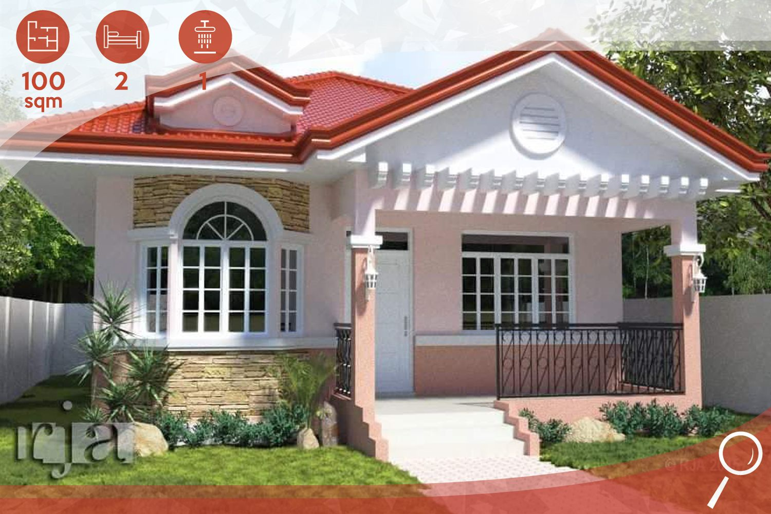 In the Philippines Bungalow House Design