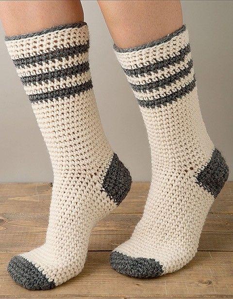 Super Cute and Cozy Easy to Make Fun Crochet Socks 9 Cozy Sock ...
