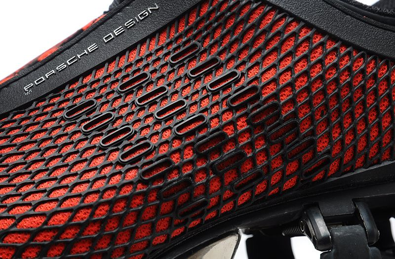 Adidas Porsche Design BOUNCE S2 Original Mens Black Red Running Shoe
