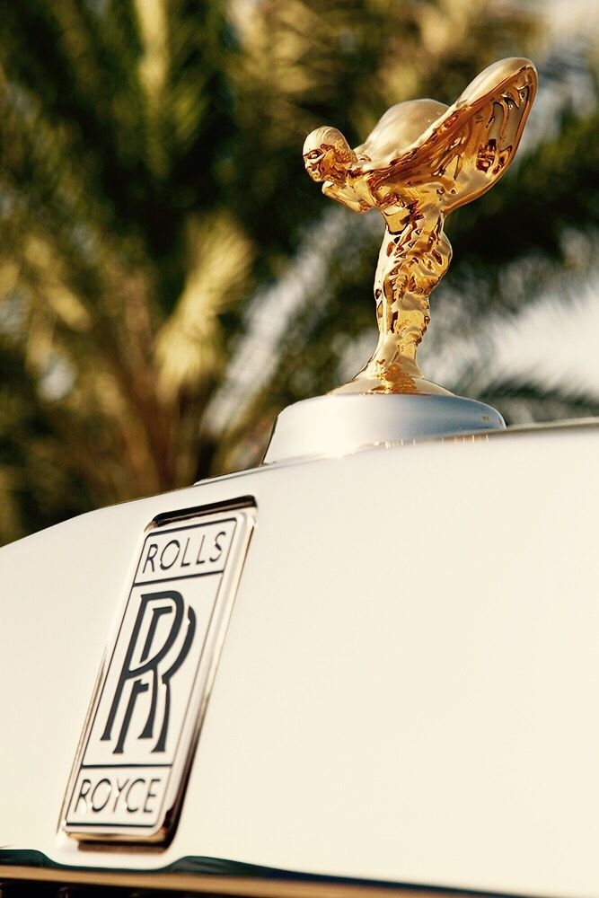 Wealth and Luxury — matthieuluxe:   The Spirit of Ecstasy