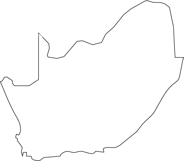 South Africa Map Drawing South Africa Map Africa Outline Africa Map