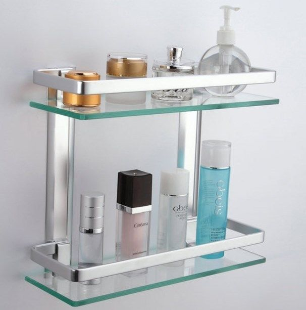Pin On Bathroom Towel Rail Wide Frame Bath Rack Bar Holder Storage Corner Chrome Stand Unbranded